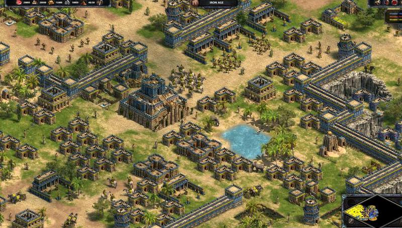 Hình ảnh game đế chế mới được cập nhật chuẩn 4K