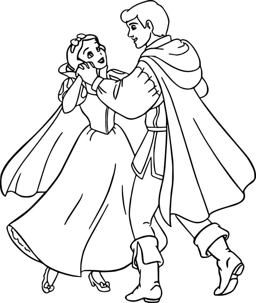Tranh tô màu hình công chúa cho bé dễ thương nhất