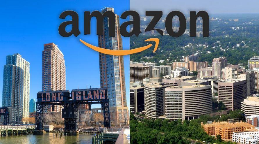 Các chính trị gia và người biểu tình đang tìm cách ngăn chặn HQ2 của New York của Amazon