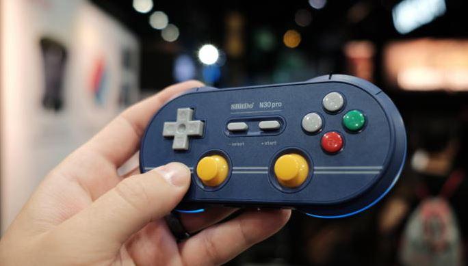 Bộ điều khiển GameCube không dây nhờ bộ chuyễn đổi Nintendo Switch