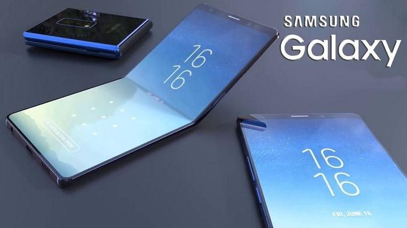 Samsung tiết lộ chiếc điện thoại có thể gập trên truyền thông xã hội