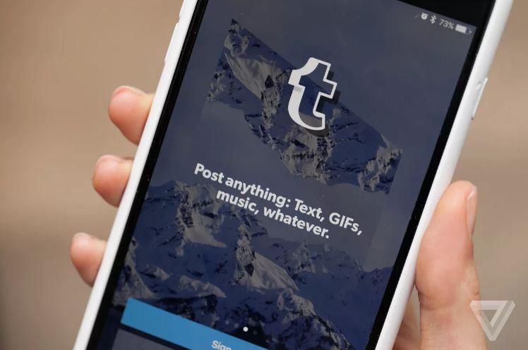 Tumblr bị thiếu trong App Store của Apple