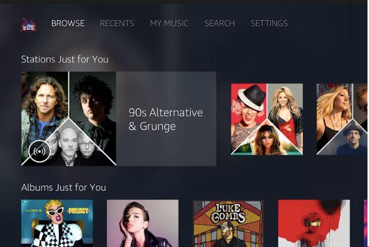 Amazon Music sẽ xuất hiện sớm trên Android TV