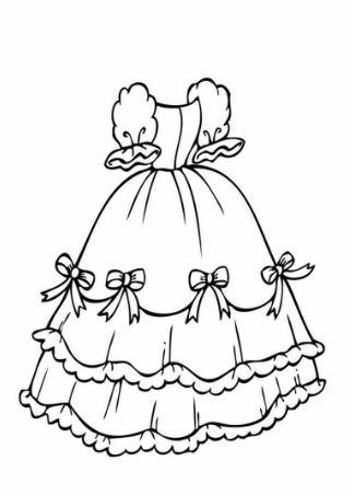 Mẫu tranh tô màu dành cho bé gái ngày tết
