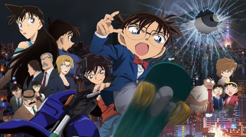 Ảnh nền Conan và các nhân vật trong truyện dành cho màn hình máy tính, điện thoại