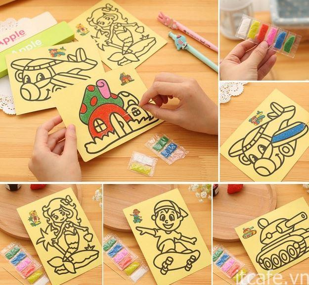 Giới thiệu tranh cát cho trẻ em
