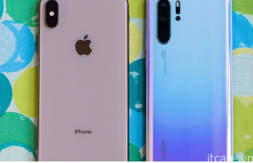 So sánh camera iPhone XS Max với Huawei P30 Pro 1